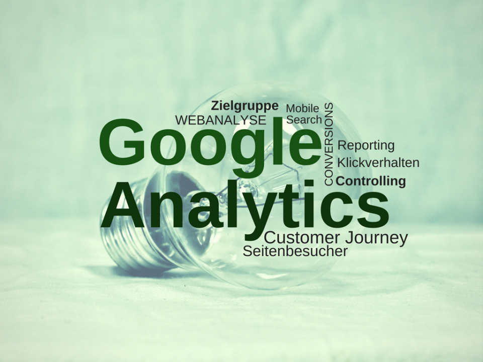 Tagcloud Google Analytics