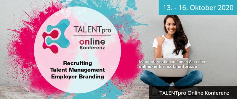 TALENTpro Online Konferenz